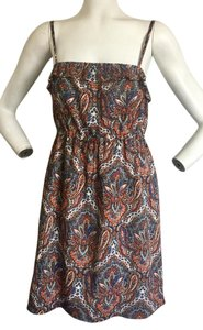 J.Crew short dress Paisley Summer on Tradesy