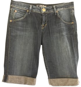 Hudson Jeans Cuffed Shorts blue