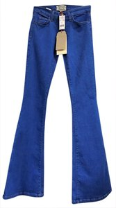 Current/Elliott Bohemian Bell Bottom Bright Flare Leg Jeans