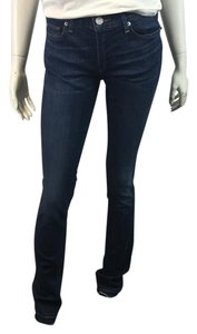 True Religion Black Skinny Frame Denim J Brand Crystal Straight Leg Jeans-Medium Wash