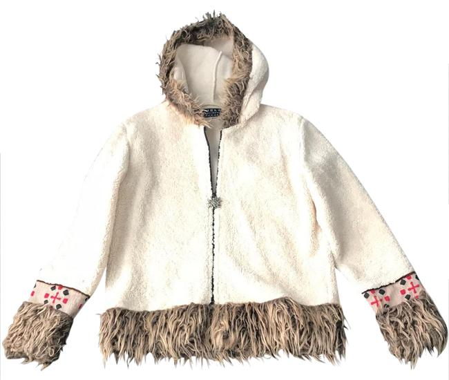 Preload https://img-static.tradesy.com/item/20938282/beige-with-accents-great-piece-cardigan-size-8-m-0-1-650-650.jpg
