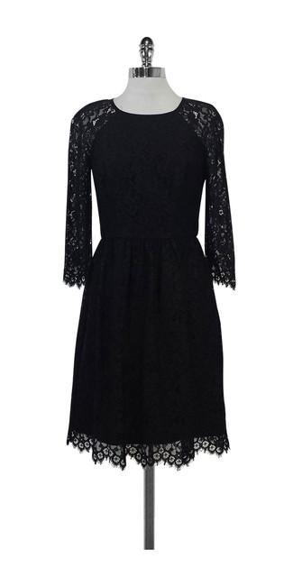 Preload https://img-static.tradesy.com/item/20938356/trina-turk-black-lace-fit-and-short-casual-dress-size-2-xs-0-0-650-650.jpg