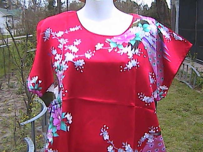 Other short dress Floral Peacock Red With Out Tag on Tradesy