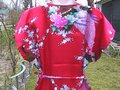 Other short dress Floral Peacock Red With Out Tag on Tradesy Image 5