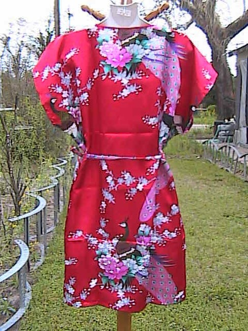 Other short dress Floral Peacock Red With Out Tag on Tradesy Image 6