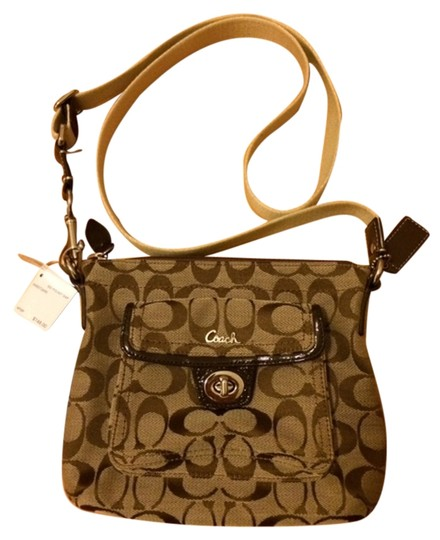 Preload https://item1.tradesy.com/images/coach-cross-body-bag-brown-and-beige-2093845-0-0.jpg?width=440&height=440