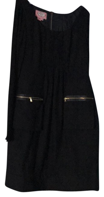 Item - Black Great Mid-length Short Casual Dress Size 4 (S)