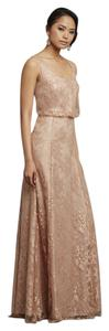 Donna Morgan Oyster Natalya Dress