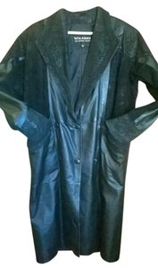 Wilsons Full Length Leather Jacket Trench Timeless Trench Coat