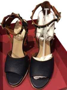 Valentino Navy Blue Sandals