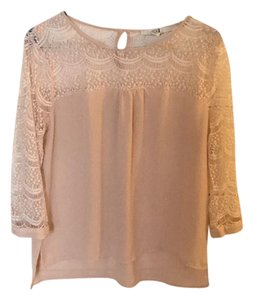 Forever 21 Top blush/pale pink