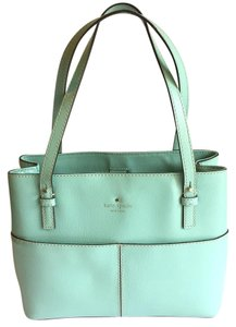 Kate Spade Leather Satchel in Blue