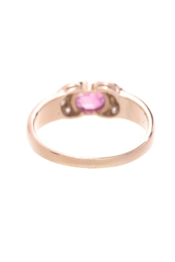 Other 18K Yellow Gold Ruby & Diamond Ring Image 1