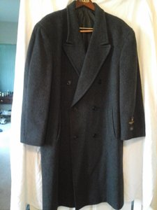 Bert Pulitzer Mens Wool/casual Trench Coat