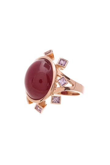 Preload https://img-static.tradesy.com/item/20938653/rose-gold-18k-ruby-and-pink-sapphire-ring-0-0-540-540.jpg