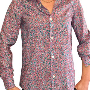 A.P.C. Button Down Shirt floral