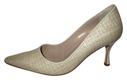 Preload https://img-static.tradesy.com/item/20938734/manolo-blahnik-beige-woven-fabric-with-patent-leather-trim-pumps-size-us-55-regular-m-b-0-1-540-540.jpg
