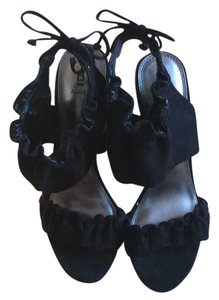 Bakers black Platforms