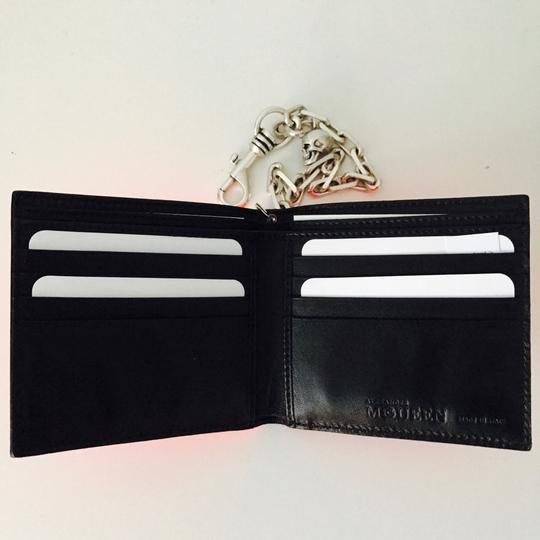 Alexander McQueen patent leather chain wallet Image 3