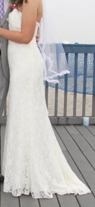 Galina A Line Beaded Lace Wedding Dress Wedding Dress