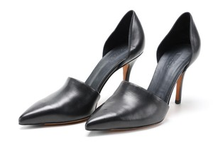 Vince Leather Pointed Toe Classic black Pumps
