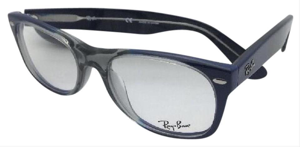 80efb4206c Ray-Ban New Rx-able Rb 5184 5516 52-18 Multi-color Blue   Grey Frame ...