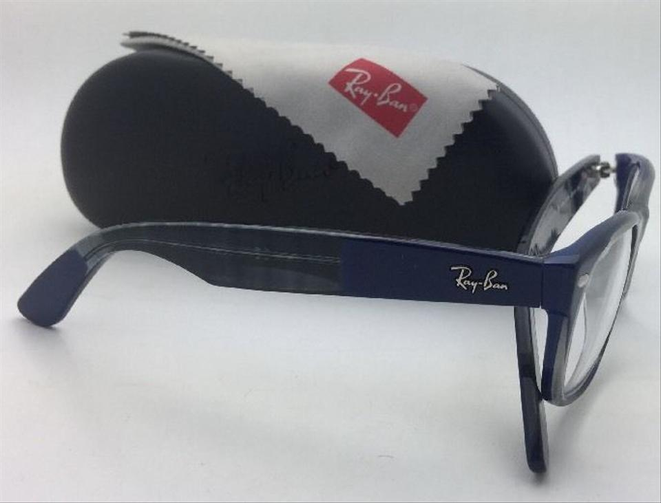 369dd4cd1d3 Ray-Ban New Rx-able Rb 5184 5516 52-18 Multi-color Blue   Grey Frame  Sunglasses - Tradesy