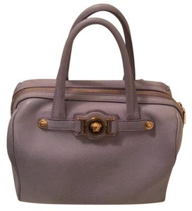 Versace Satchel in light purple