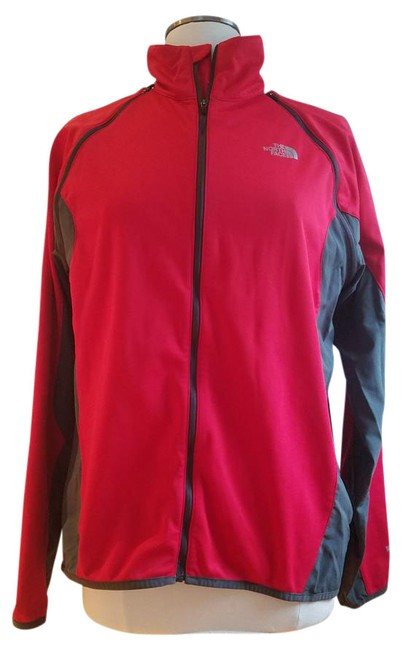 Item - Red Grey Windstopper Activewear Outerwear Size 10 (M, 31)
