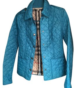 Burberry bright blue Jacket