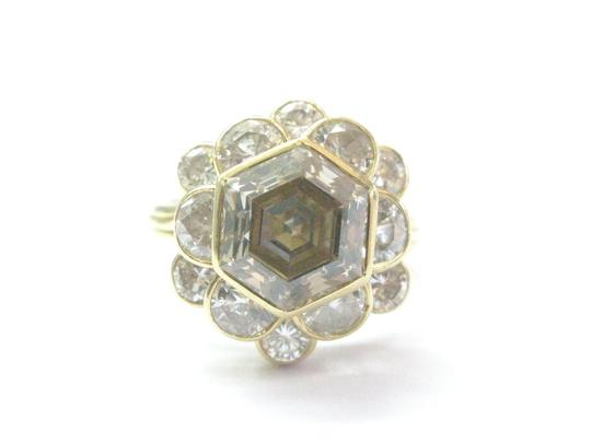 Preload https://img-static.tradesy.com/item/20939346/h-18kt-fancy-brown-octagon-half-moons-and-round-cut-diamond-yellow-gold-ri-ring-0-0-540-540.jpg