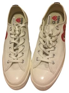 COMME des GARÇONS Cream and Red Athletic