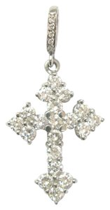 Loree Rodkin Loree Rodkin Platinum Diamond Gothic Cross Pendant 2.36CT