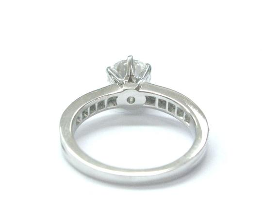 Tiffany & Co. Tiffany & Co Platinum Diamond Channel Set Engagement Ring 1.33CT G-VS1 Image 3