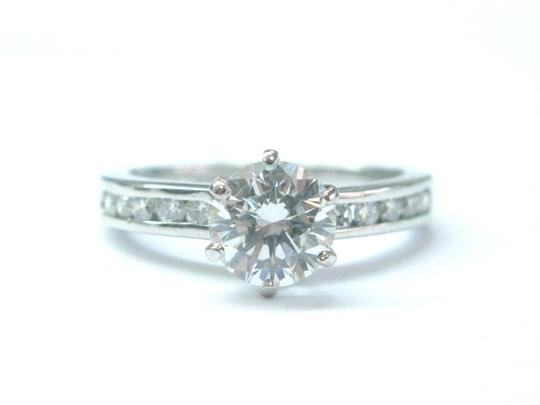 Tiffany & Co. Tiffany & Co Platinum Diamond Channel Set Engagement Ring 1.33CT G-VS1 Image 4
