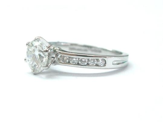 Tiffany & Co. Tiffany & Co Platinum Diamond Channel Set Engagement Ring 1.33CT G-VS1 Image 5