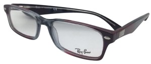Ray-Ban RAY-BAN Rx-able Eyeglasses HIGHSTREET RB 5206 5517 54-18 Grey & Red