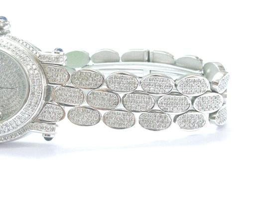 Other 18Kt Oval Shape Diamond White Gold Watch 10.00Ct Image 5