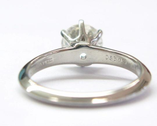 Tiffany & Co. Tiffany & Co Platinum Round Diamond Solitaire Engagement Ring 1.19CT H Image 3