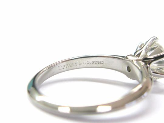 Tiffany & Co. Tiffany & Co Platinum Round Diamond Solitaire Engagement Ring 1.19CT H Image 5
