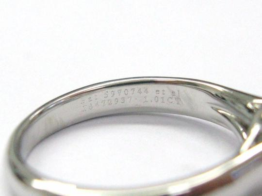 Tiffany & Co. Tiffany & Co PLATINUM Lucida Diamond Ring F-VVS2 1.01CT Image 1