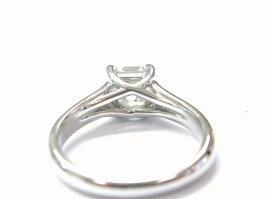 Tiffany & Co. Tiffany & Co PLATINUM Lucida Diamond Ring F-VVS2 1.01CT Image 2