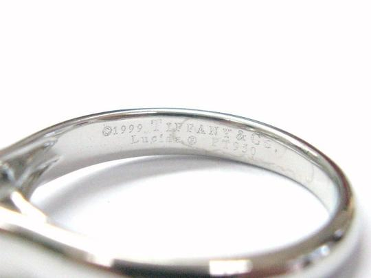 Tiffany & Co. Tiffany & Co PLATINUM Lucida Diamond Ring F-VVS2 1.01CT Image 3