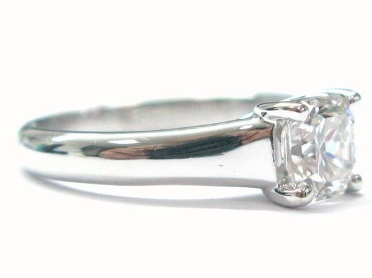 Tiffany & Co. Tiffany & Co PLATINUM Lucida Diamond Ring F-VVS2 1.01CT Image 4