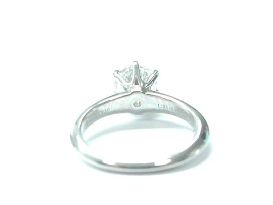 Tiffany & Co. Tiffany & Co PLAT Round Diamond Solitaire Engagement Ring 1.05CT H-VVS Image 4