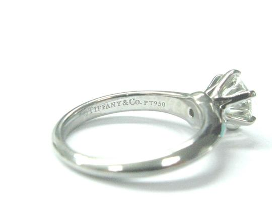 Tiffany & Co. Tiffany & Co PLAT Round Diamond Solitaire Engagement Ring 1.05CT H-VVS Image 5
