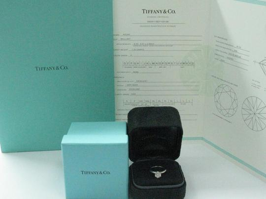 Tiffany & Co. Tiffany & Co PLAT Round Diamond Solitaire Engagement Ring 1.05CT H-VVS Image 8