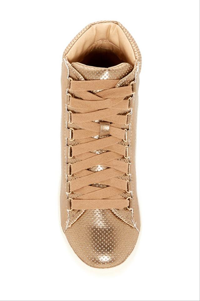 54cc2fb51cb Steve Madden Rose Gold Darya High Top Sneaker Sneakers Size US 9 Regular  (M, B)