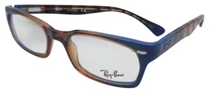 701e3aceb3 Ray-Ban RAY-BAN Rx-able Eyeglasses HIGHSTREET RB 5150 5488 Brown Transp