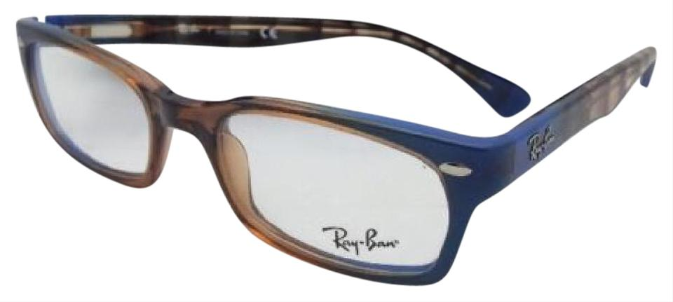 78478453b0 Ray-Ban RAY-BAN Rx-able Eyeglasses HIGHSTREET RB 5150 5488 Brown Transp ...